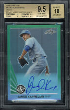 2015 Leaf 25th James Kaprielian Green 8/10 Beckett Gem Mint 9.5 Autograph 10