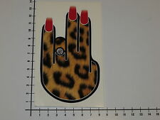 SHOCKER LADY TIGER LEOPARD Aufkleber Sticker Decal Tussy Pussy OEM DUB V8 Mi172