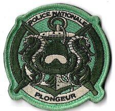 Ecusson POLICE NATIONALE PLONGEUR