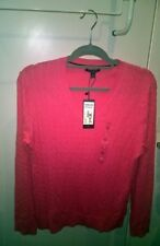 Tommy Hilfiger 100% Cotton V-Neck Jumpers & Cardigans for Women