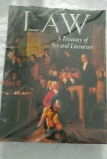 Law: A Treasury of Art and Literature, Robbins, 1990 HCDJ BEAUX Arts Collect NEW