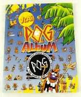 Album Pog 100 Places Collector Vintage avec 89 Pogs divers Envoi rapide et suivi