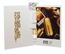 Carolina Herrera 212 Vip Edp 1.5ml Vial Women Eau de Parfum Fragrances New Spray