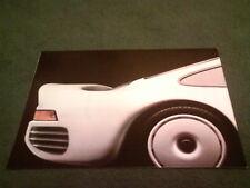 1984 1985 PORSCHE UK RANGE FOLD OUT BROCHURE 924 944 911 928 Turbo - WVK 131020