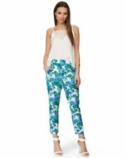Tapered Floral Pants for Women