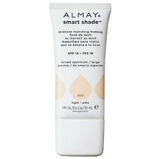 Almay Smart Shade Skin Tone Matching Makeup, Light [100] 1 oz