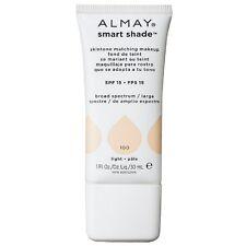 Almay Smart Shade Skin Tone Matching Makeup, Light [100] 1 oz