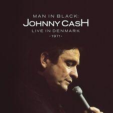 JOHNNY CASH LIVE IN DENMARK 1971 CD ALBUM (December 4th 2015)