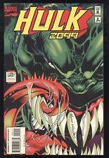 Hulk 2099 (1994) #2 1st Print Signed Kevin Nowlan W/ Photo Adam Kubert Davis VF+