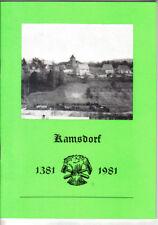 antik DDR Chronik Geschichte Kamsdorf Unterwellenborn Ranis Saalfeld Könitz 1981