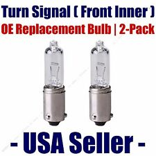 Front Inner Turn Signal Light Bulb 2pk - Fits Listed Volvo Vehicles - H21W