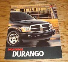 Original 2005 Dodge Durango Deluxe Sales Brochure 05