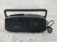 Lenoxx Sound Radio Cassette Recorder Player AM/FM Model CT-99 AC/DC power