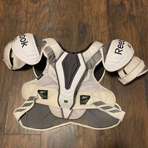 Reebok 20K Pro Stock Game Used Schmalz ECHL Shoulder Pads Size XL