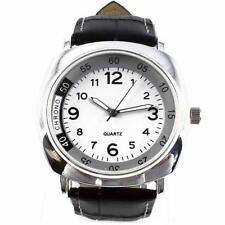 Hombres Italiano Redondo Cronógrafo De Cuarzo Años 50 Estilo Reloj