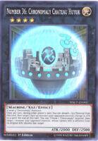 Yu-Gi-Oh Card - WSUP-EN002 - NUMBER 36: CHRONOMALY CHATEAU HUYUK (super rare) NM