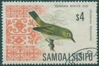 Samoa 1967 SG289b $4 Bird FU