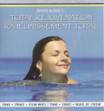 BODY AND SOUL TOTAL REJUVENATION STRINGS PIANO OCEANWAVE RELAXATION SPA MUSIC CD
