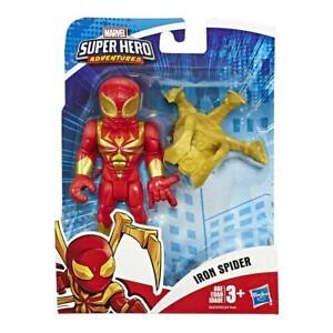 "Playskool Heroes Marvel Super Hero Adventures 5"" Iron Spider Action Figure"
