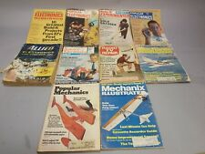 10 Vintage magazines popular electronics mechanics radio Tv science illustrated