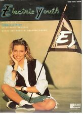 """DEBBIE GIBSON """"ELECTRIC YOUTH"""" SHEET MUSIC-PIANO/VOCAL/GUITAR-1988-RARE-NEW-SALE"""