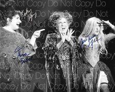 Hocus Pocus signed Birch Parker Midler Najimy 8X10 photo picture autograph RP 2