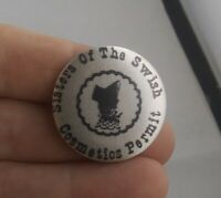 Vintage SISTERS OF THE SWISH Cometics Permit pin button pinback  *A