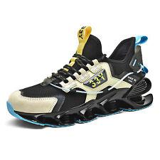 Mens Athletic Walking Blade Running Tennis Shoes Fashion Sports Shoes