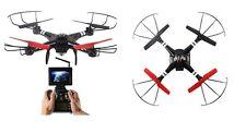 Drone Quadricottero 4 CH 2,4 GHZ giroscopio Q222 FPV telecamera HD