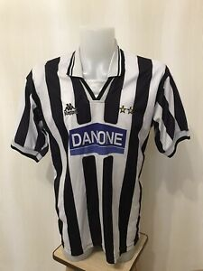 Juventus 1994/1995 Home Sz L Kappa football soccer maillot shirt jersey camiseta