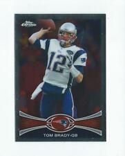 2012 Topps Chrome #220 Tom Brady Patriots