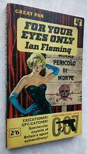 JAMES BOND 007 FOR YOUR EYES ONLY IAN FLEMING 1ST/2ND PAN S/B 1962 SEAN CONNERY