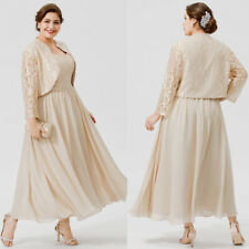 New Mother Of The Bride Dresses Suits With Jackets Plus Size Custom Made Evening