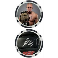 Georges St-Pierre - POKER CHIP - GOLF BALL MARKER ***SIGNED***