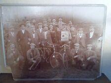 1899 - RACING CLUB BRAINOIS - Cyclistes - Braine-le-Comte - Photo ORIGINALE