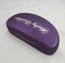 Harley Davidson Ladies Womens Purple Oversized Hard Sunglass Case