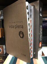 Biblia de Estudio Vida Plena nueva version intercional NVI CON INDICE PIEL ITALI
