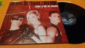 "VINILE MIX 12"" S.M.S. feat. REHB - jIST A BIT OF CHAOS italodance 2002 hit"