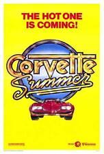 CORVETTE SUMMER Movie POSTER 27x40 B Mark Hamill Annie Potts Eugene Roche Kim