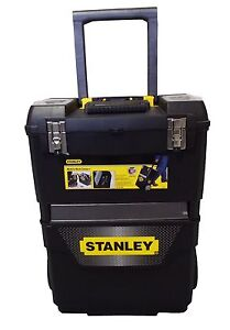 Stanley Mobile Work Centre - 2 Pieces - Loads of Storage - Tool Storage/Toolbox