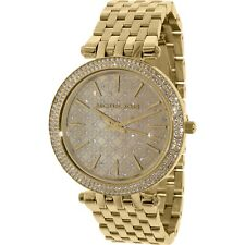 Michael Kors Women's Darci MK3398 Gold Stainless-Steel Quartz Fashion Watch