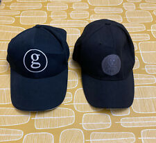 2 X Garth Brooks Black Unisex Adjustable Baseball Caps Hats VGC