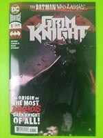 Batman Who Laughs: The Grim Knight #1 First Print Jock NM DC Comics 2019