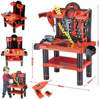 CREATIVE  TOOL BENCH PLAY SET WORK SHOP KIDS TOOL SET KIT BOYS  WORKBENCH TOY
