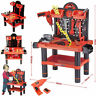 CREATIVE  TOOL BENCH PLAY SET WORK SHOP TOOLS KIT BOYS KIDS WORKBENCH TOY 52/54