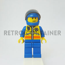 LEGO Minifigures - 1x cty072 - Coast Guard Patroller - City Omino Minifig 4210
