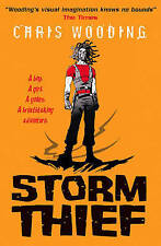 Storm Thief, Wooding, Chris, New Book
