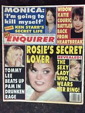 Vintage National Enquirer   March 10, 1998   Rosie O'Donnell   Pamela Anderson