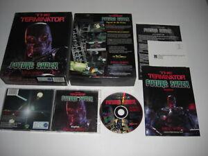 THE TERMINATOR - FUTURE SHOCK Pc Cd Rom Original BIG BOX - FAST POST