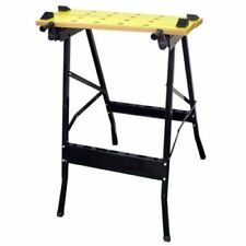 DIY Work Top Bench Table Portable Folding Workbench Workmate With Clamping Vice